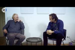 Florian Ernst Kirner im Gespräch mit Dirk C. Fleck. (Foto: Rubikon.news)