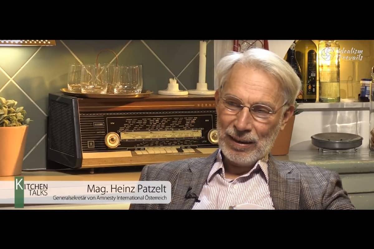 Kitchen Talk mit Heinz Patzelt. (Foto: Idealism Prevails)