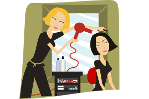 Barber. (Illustration: OpenClipart-Vectors, Pixabay.com, Creative Commons CC0)
