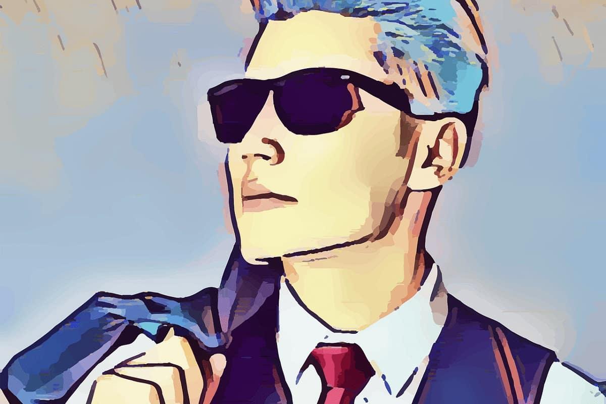 Mann in Blau. (Illustration: prettysleepy1, Pixabay.com, Creative Commons CC0)