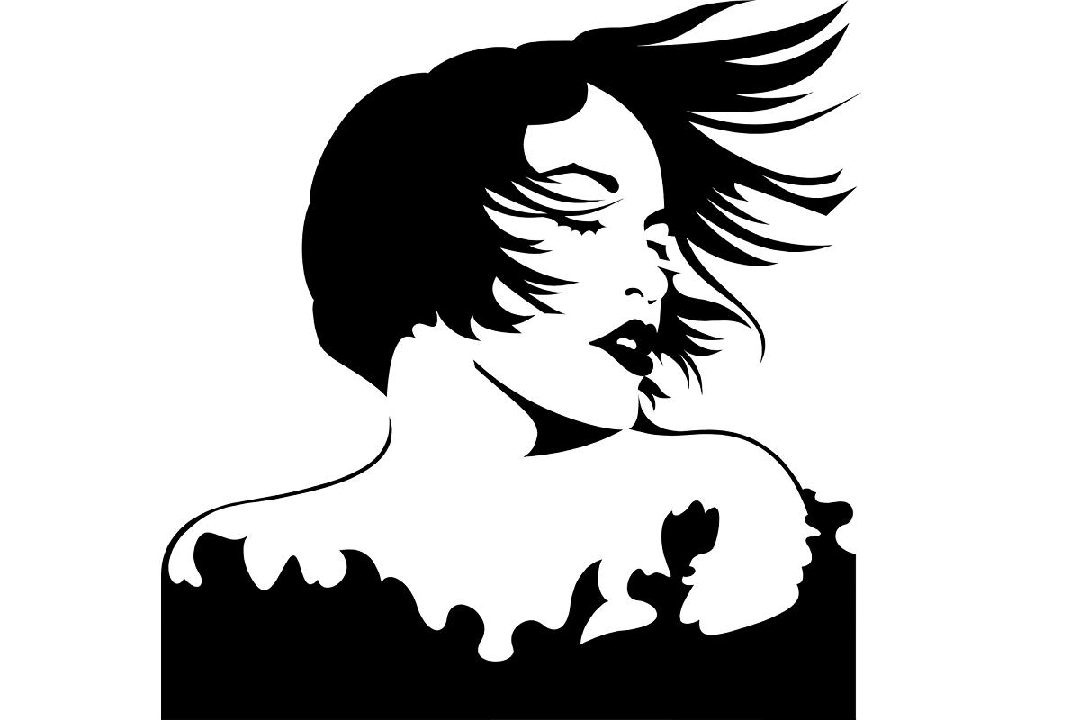 Schwarz-Weiß-Schnitt Klassik (Illustration: OpenClipart-Vectors, Pixabay.com, Creative Commons CC0)
