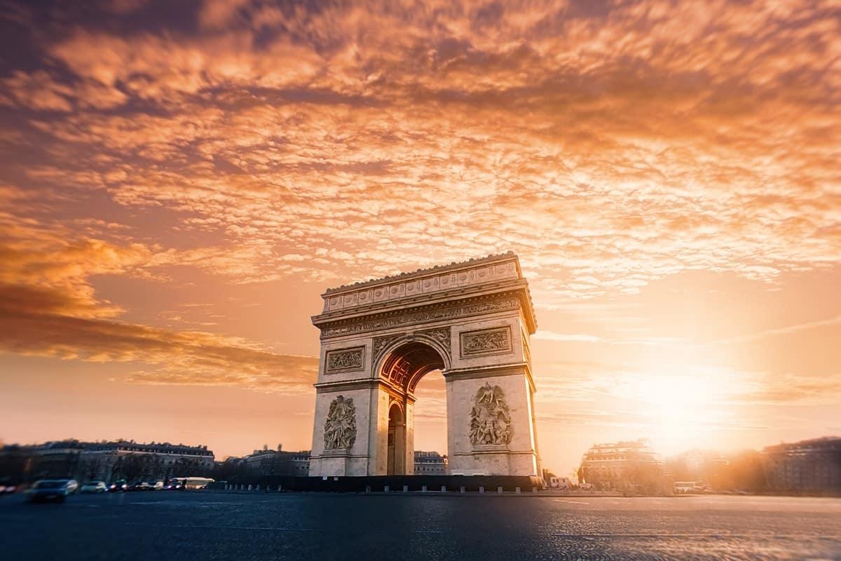 Arc de Triomphe, Paris, France. (Foto: Willian West, Unsplash.com)