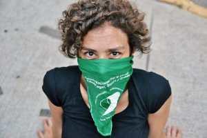 Im Gespräch mit Maria Graciela Tellechea über Feminismus. (Foto: Rocío Escobar)