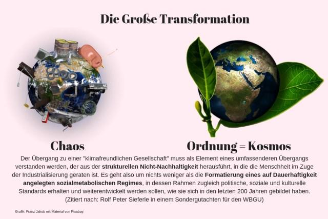 Die Große Transformation. (Grafik: Franz Jacob mit Material von Pixabay.com)