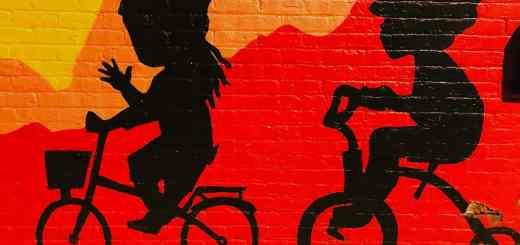 Das Graffiti in Richmond steht für nicht für Stillstand, sondern für Bewegung. (Foto: Vimal Natarajan, Unsplash.com)