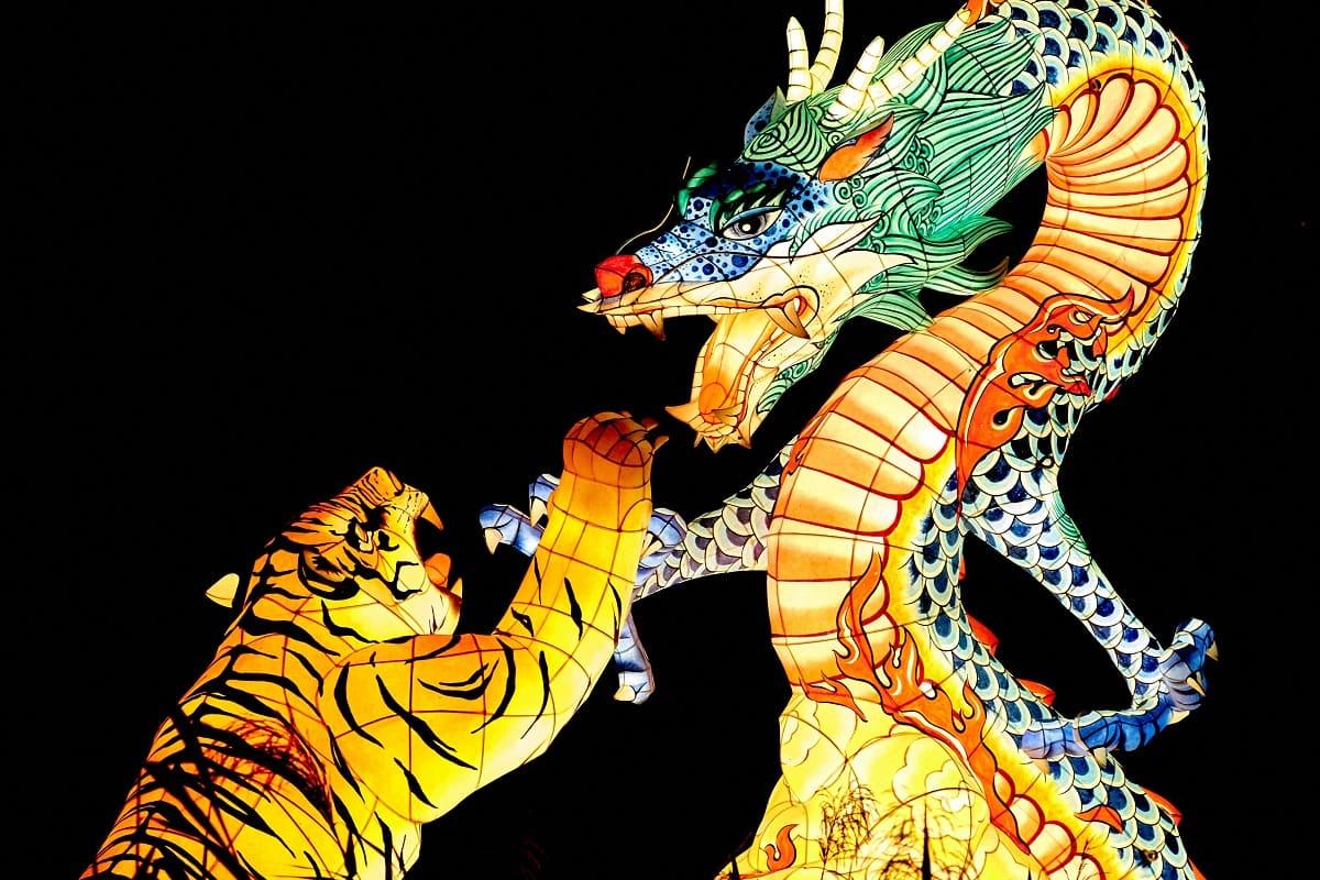 Die Opferideologie ist ein politisches Entmündigungsprogramm. Dragon vs. Tiger. Der Kampf zwischen Gut und Böse. (Foto: Mathew Schwartz, Unsplash.com)