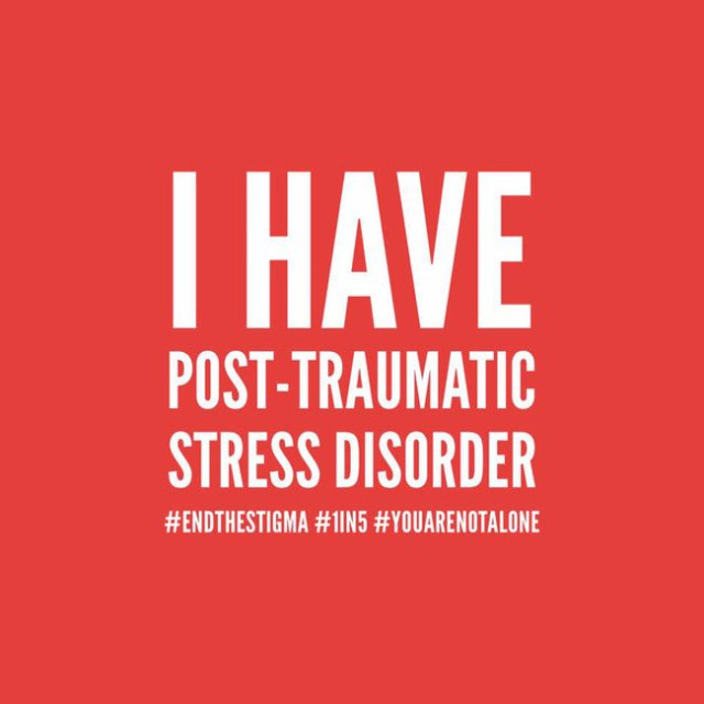 I have Post Traumatic Stress Disorder (Grafik: Rubikon)