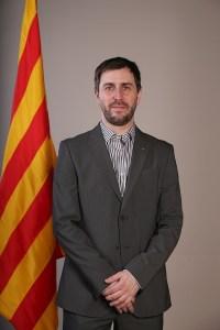 Gespräch mit Toni Comín über Autoritarismus und Katalonien. (Foto: Generalitat de Catalunya, Jordi Bedmar)
