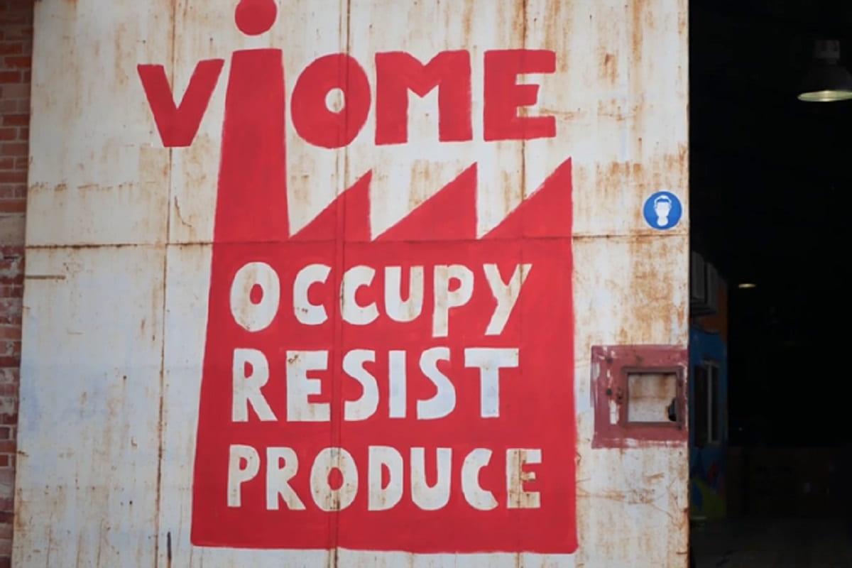 Bei Vio.Me haben die Arbeiter die Produktionsmittel übernommen. (Foto: Unicorn Riot)