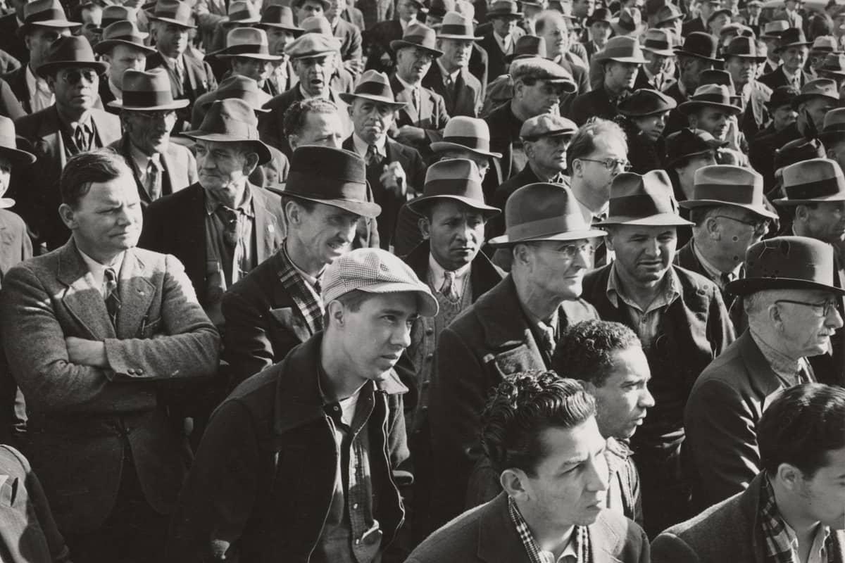 Die Biografie und Gesichter, gezeichnet durch soziale Kämpfe. (Symbolfoto: The New York Public Library; Dorothea Lange)