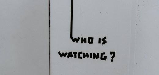 Die existenzielle Frage: Who is watching. (Foto: Claudio Schwarz Purzlbaum, Unsplash.com)