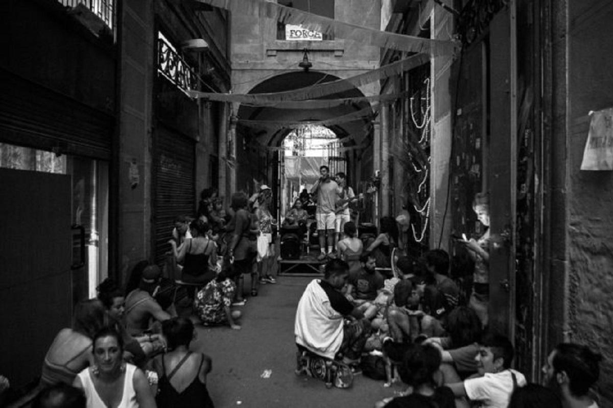 Das Stadtviertel Raval gegen Blackstone in Barcelona. (Foto: Todo por Hacer)