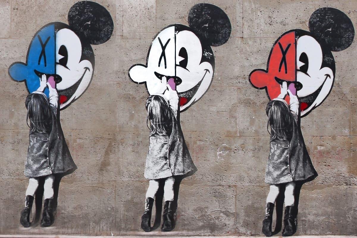 Doppelte Standards? Graffitis in Le Marais, Paris, Frankreich. (Foto: Nad X, Unsplash.com)