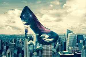 High Heels als Symbol für die Übernahme der Politik durch die Wirtschaft. (Illustration: Mystic Art Design, Pixabay.com)