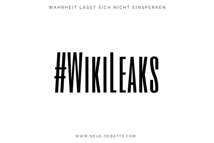 #WikiLeaks - Der Fall Julian Assange. (Illustration: Neue Debatte)