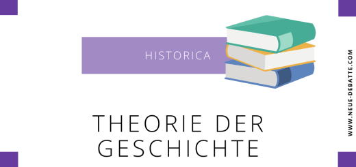 Historische Relativität gehört als Begrifflichkeit zur Geschichtsforschung. (Illustration: Neue Debatte)