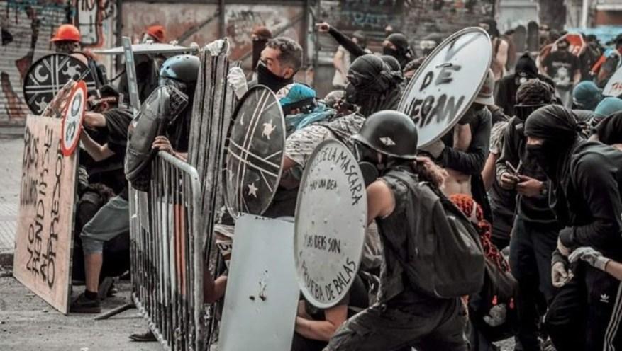 Sozialer Aufstand und Revolte in Chile 2019. (Foto: Materiales x La Emancipaciòn)
