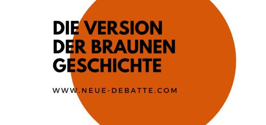 Die CDU hängt einer falschen Version der eigenen Geschichte nach. (Illustration: Neue Debatte)