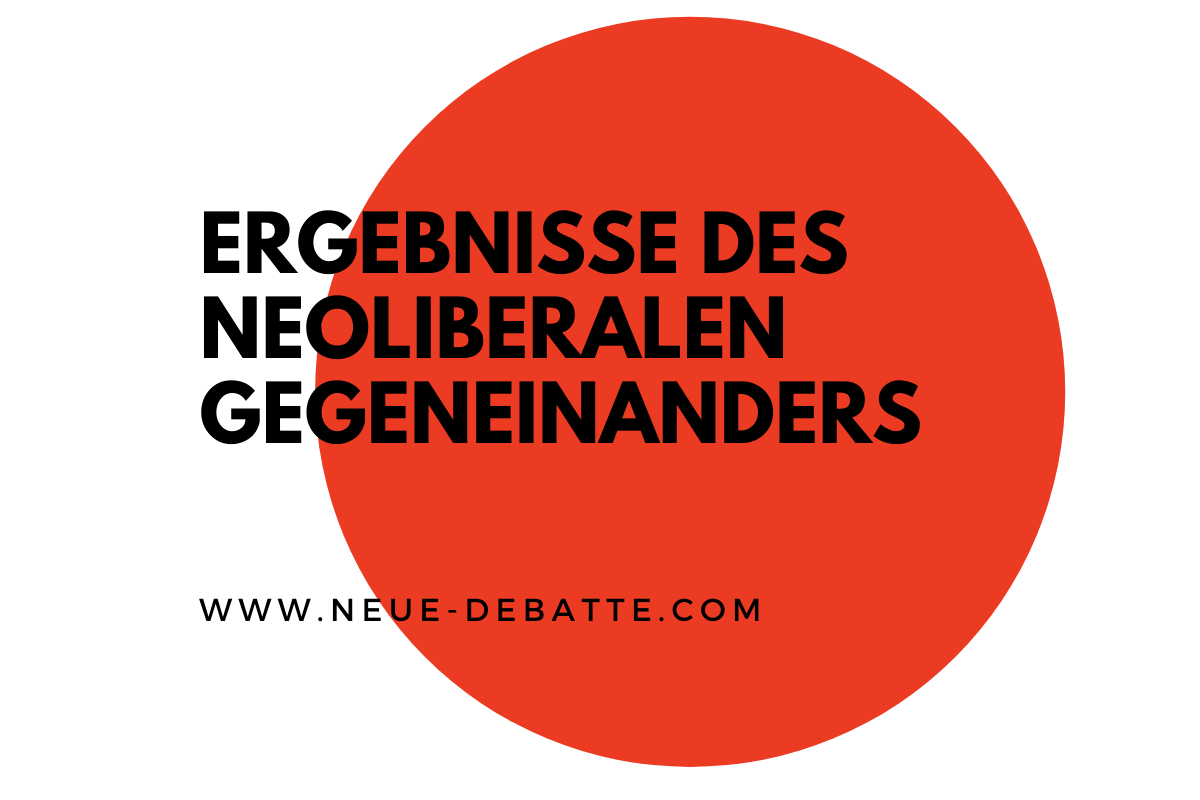 Rechtsextremismus und rechter Terror sich Ergebnisse der Hetze und des neoliberalen Gegeneinanders. (Illustration: Neue Debatte)