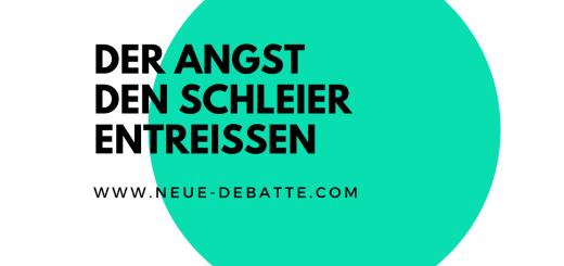 """Ken Jebsen im Gespräch mit Elisa Gratias über das Rubikon-Buch """"Nur Mut"""". /Illustration: Neue Debatte)"""
