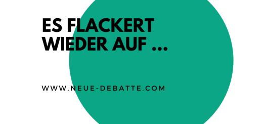 Gerhard Mersmann kommentiert den 8. Mai und die aktuelle Politik. (Illustration: Neue Debatte)
