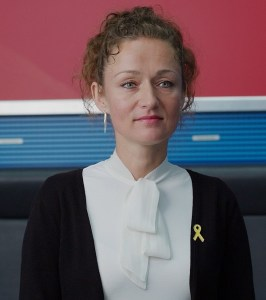 Zaklin Nastić ist menschenrechtspolitische Sprecherin der Partei DIE LINKE. (Foto: Kat-Info.org)