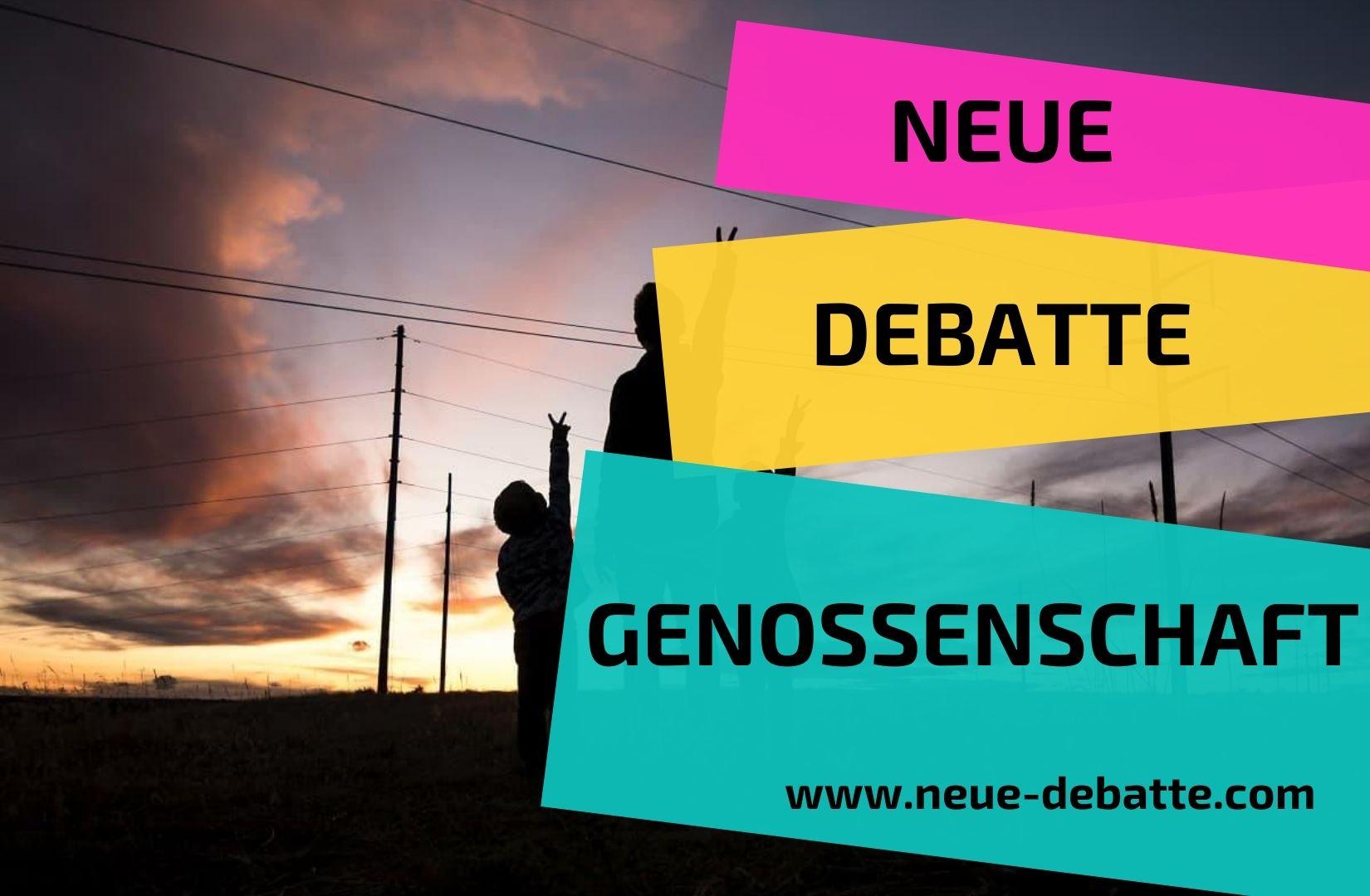 Neue Debatte Genossenschaft
