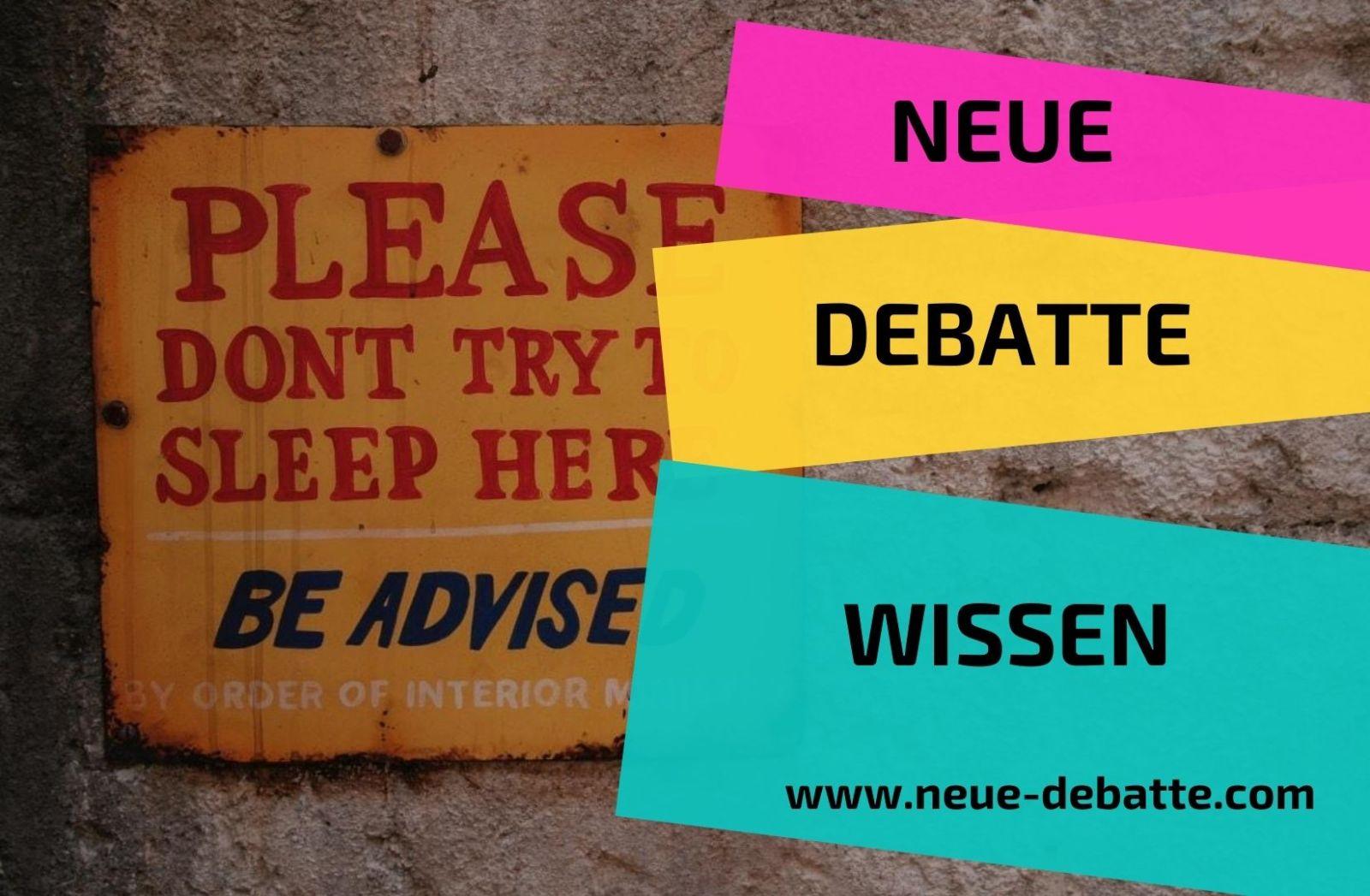 Wissen Neue Debatte