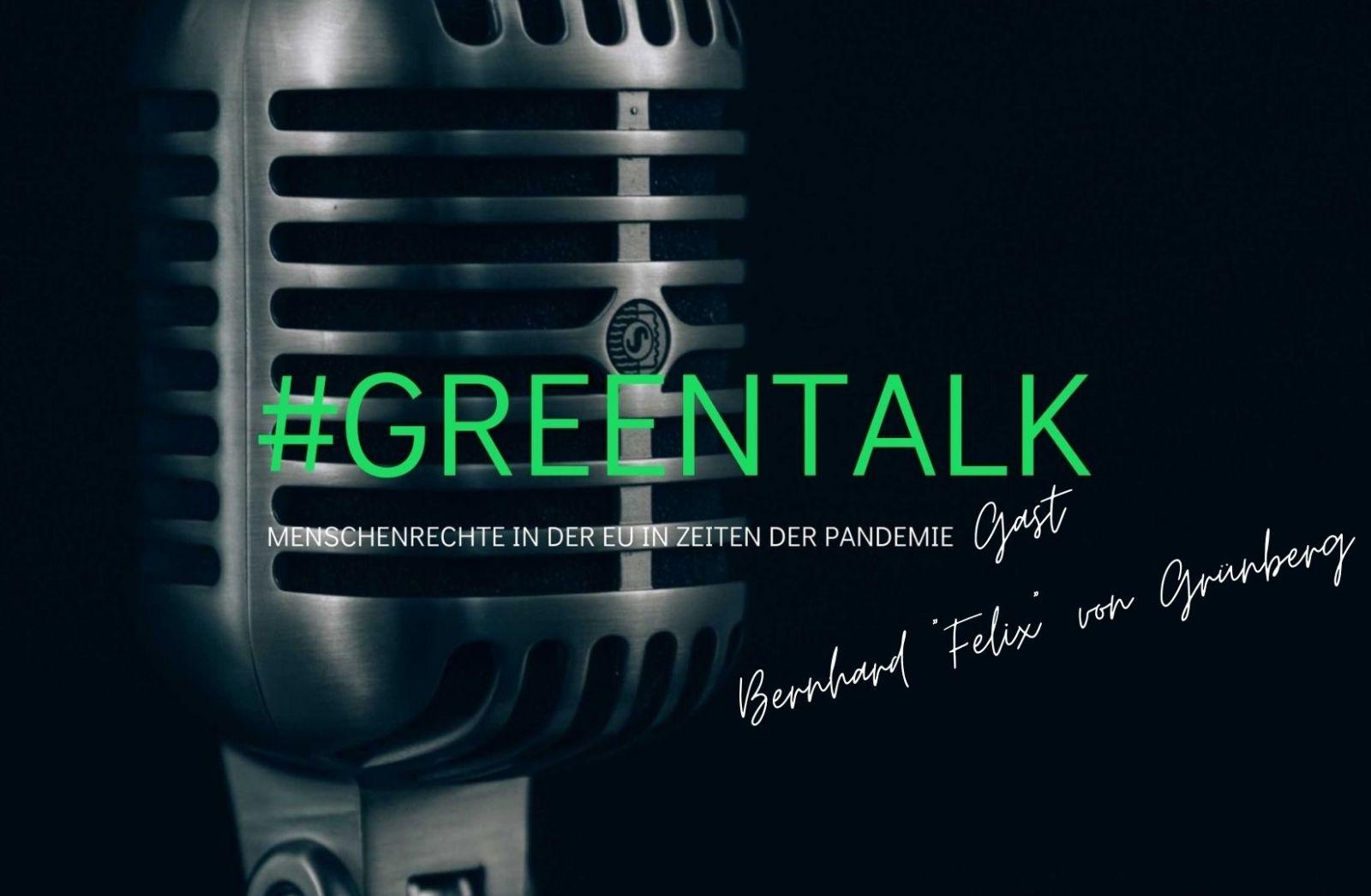 GreenTalk | Gast: Bernhard von Grünberg