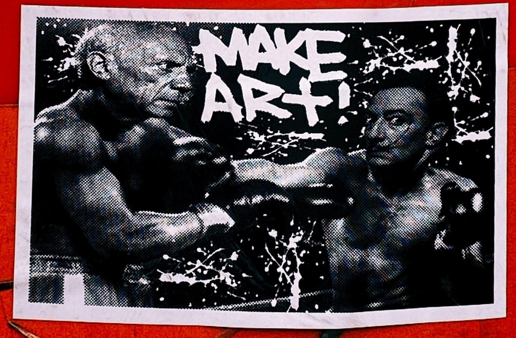 Was sich noch lohnt; machen Sie Kunst. (Foto: Jon Tyson, Unsplash.com)