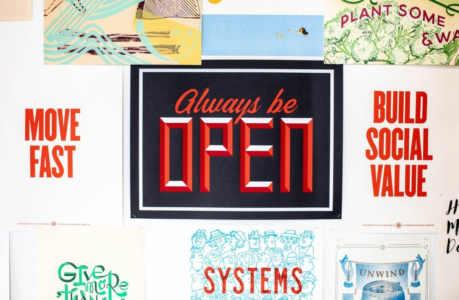 Always be open. (Foto: Charlie Firth, Unsplash.com)