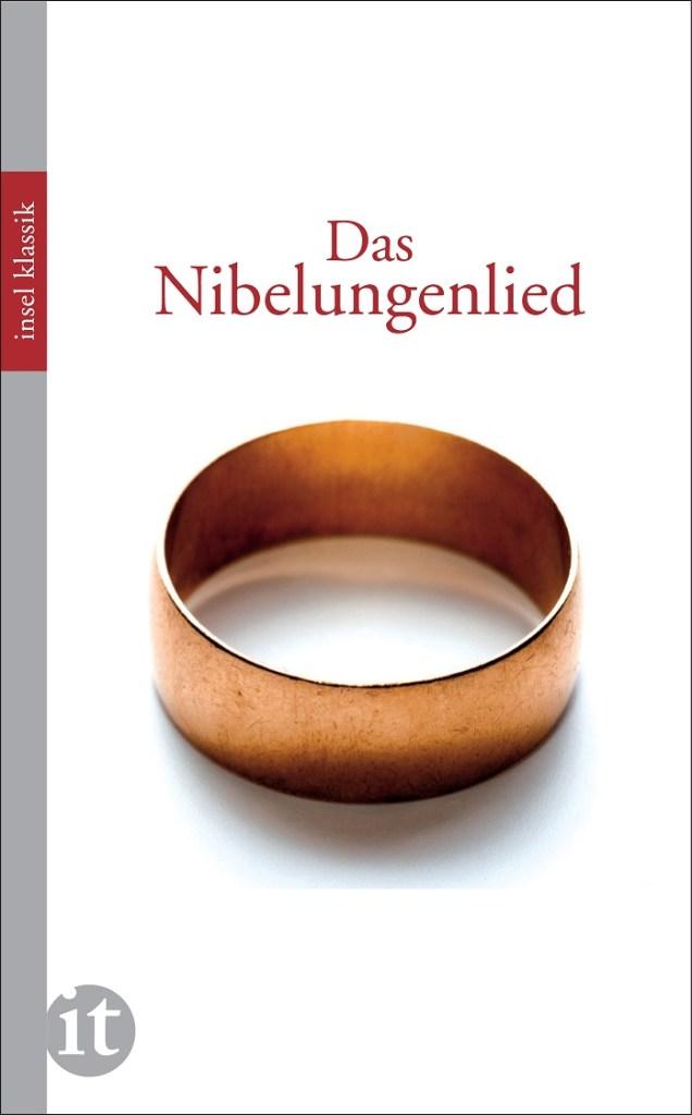 Das Heldenepos als Buch. Das Nibelungenlied. (Buchcover: Insel Verlag)