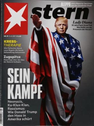 Titelblatt Stern Magazin Donald Trump. (Foto: Consent Factory)