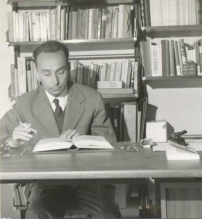 Primo Levi 1960 (Foto: gemeinfrei)
