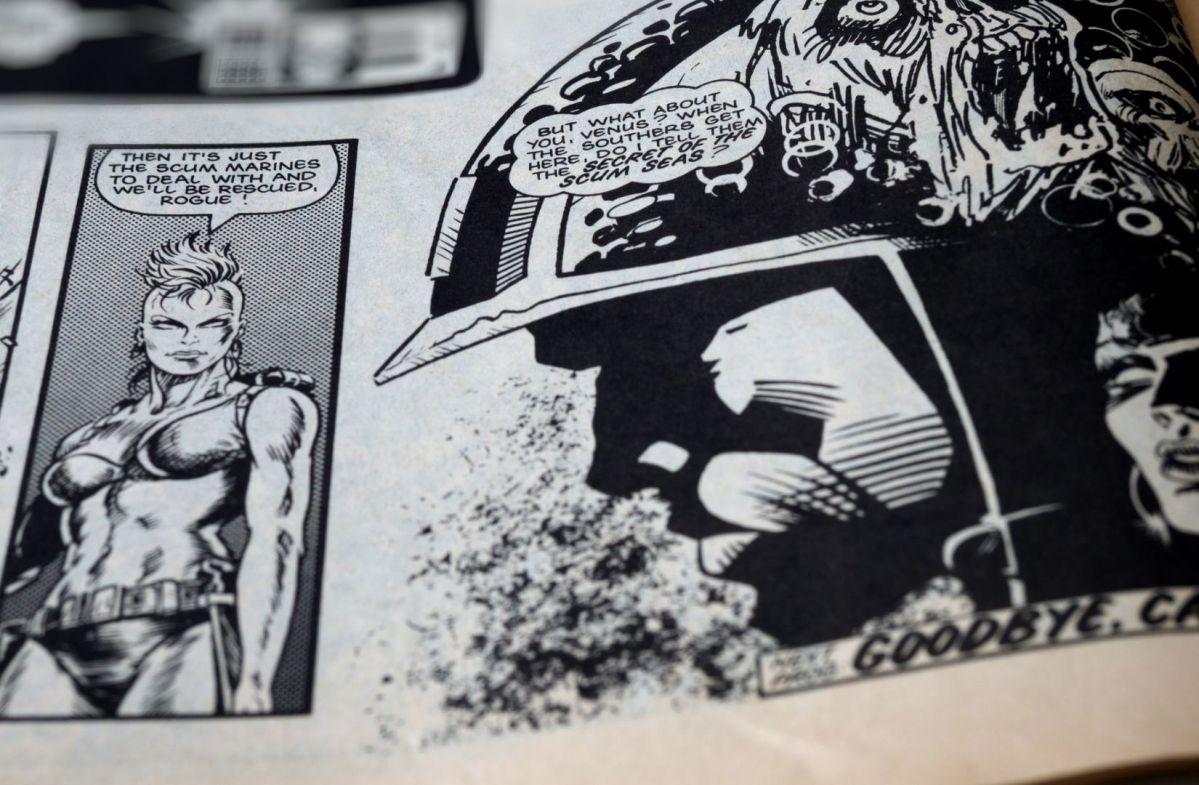 Ein Comic in Schwarz-Weiß. (Foto: Brett Jordan, Unsplash.com)