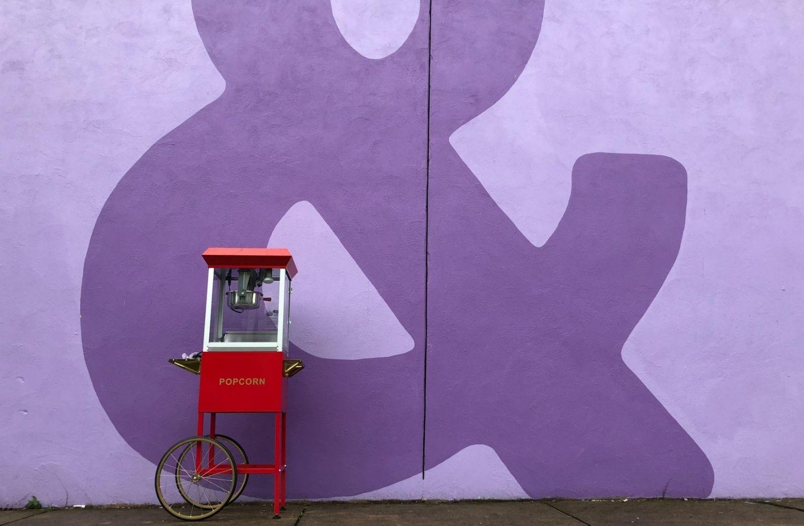 Popcorn Maschine. (Foto: Mark Wieder, Unsplash.com)