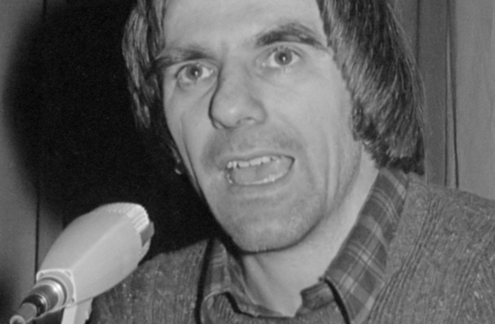 Rudi Dutschke 1976. (Foto: Hans Peters Anefo, CC0, cropped)