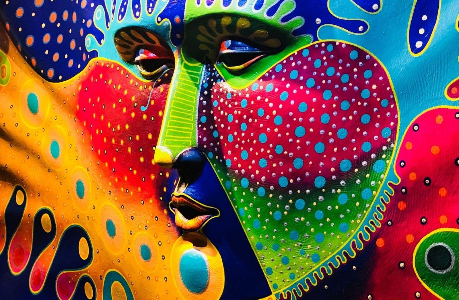 Nichts für Hasardeure. Street Art aus Mexiko. (Foto: Marco Carrillo, Unsplash.com)