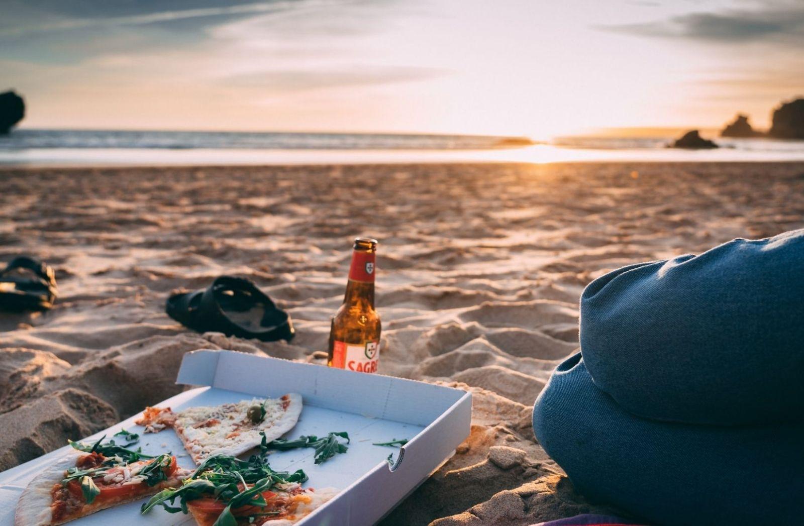 Ein Sonnenuntergang für Hipster. (Foto: Barna Bartis, Unsplash.com)