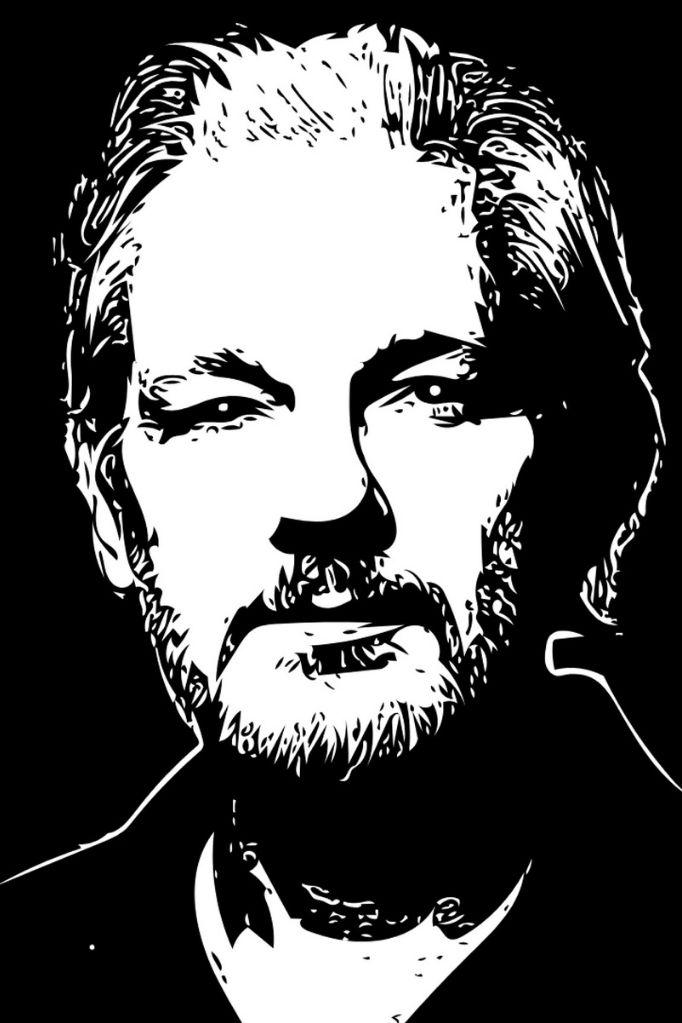 Julian Assange. (Illustration: hafteh7, Pixabay.com)