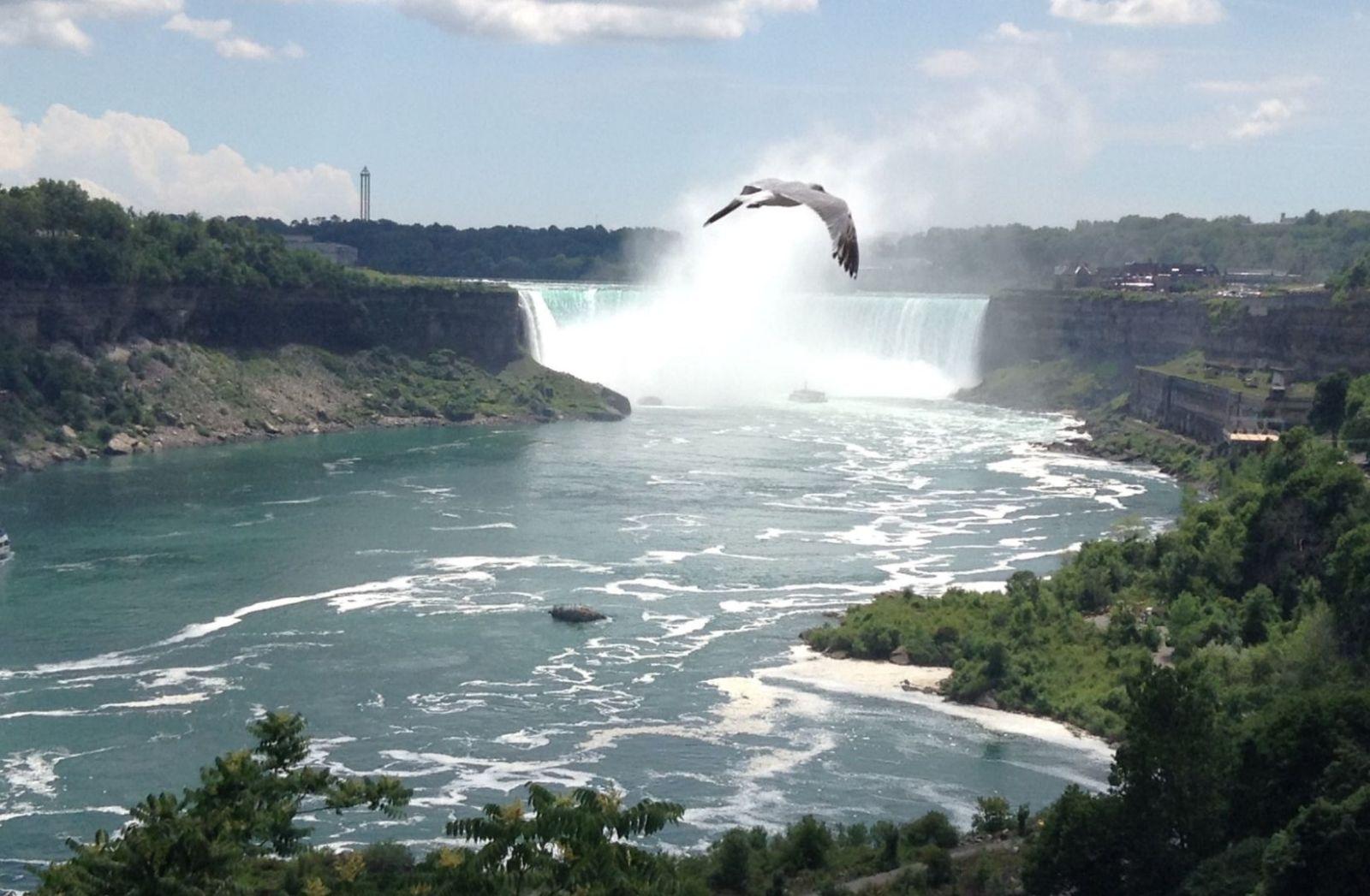 Niagarafälle in Kanada. (Foto: Chase B., Unsplash.com)