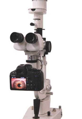 Videospaltlampe Digital