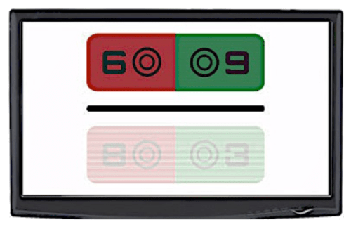 3D POLA Sehzeichenmonitor