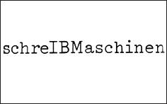 Michael Schirner's berühmte Anzeige für IBM Schreibmaschinen.