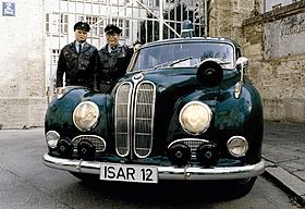 Isar12 - vintage police car from German tv series