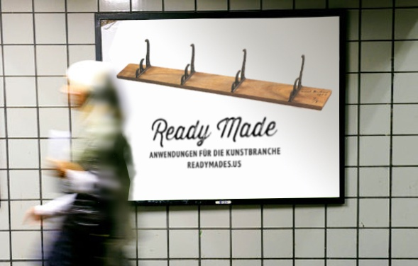 Ready Made U-Bahn Plakat