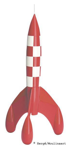 Tim und Struppi Rakete © Hergé /Moulinsart
