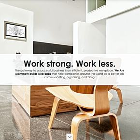 Work strong. Work less.