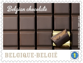 Belgian chocolate stamp_0