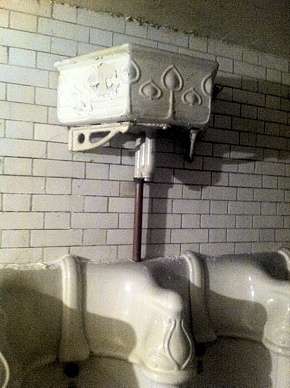 That's right, victorian gentleman's toilet